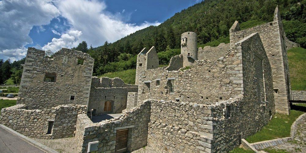 Knight games in the Chiusa of Rio di Pusteria