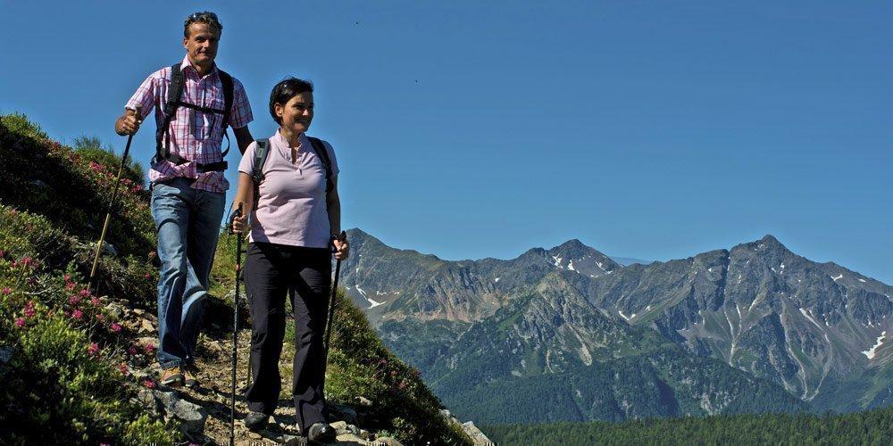 Nordic Walking Urlaub in Meransen - Fitness und Naturgenuss am Fuß des Gitschberges