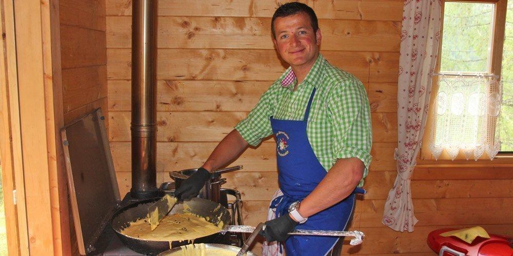 Kochkurs auf der Almhütte in den Sommermonaten