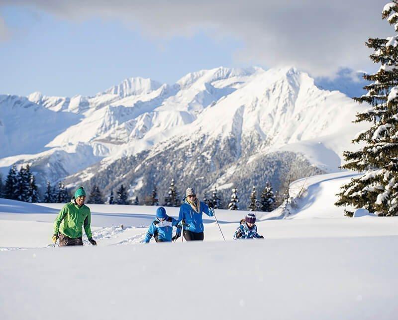 Winterliche Idylle in Meransen im Skiparadies Gitschberg-Jochtal