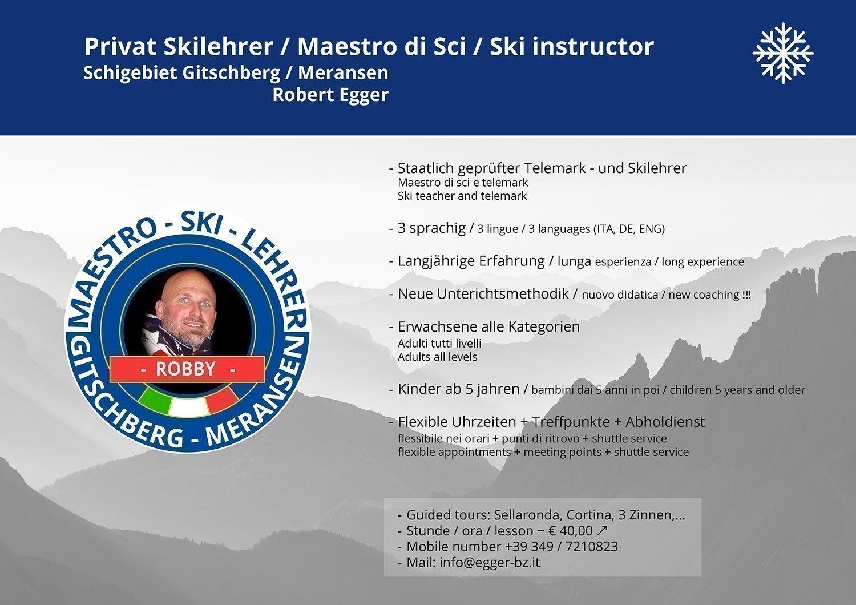 Unser Top Skilehrer Robby!