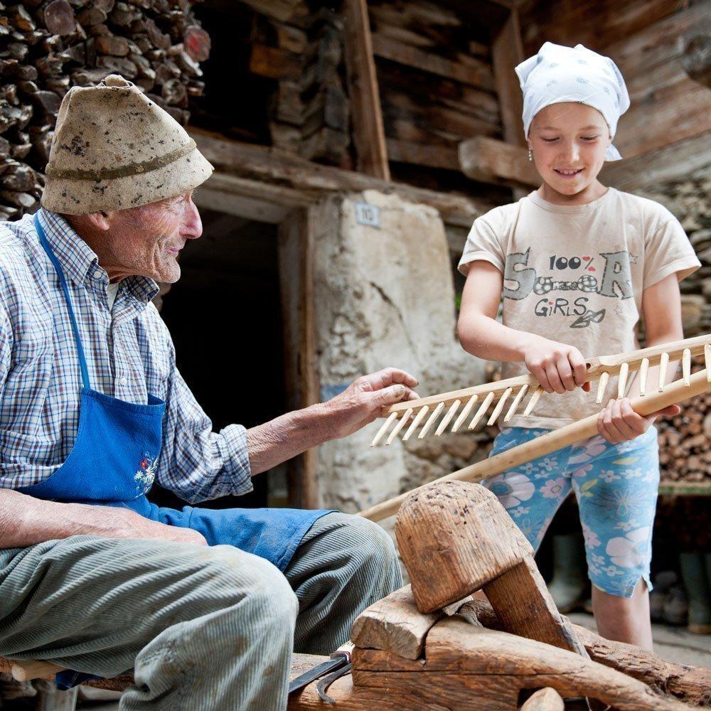 Milk stories in Rodengo - only for children