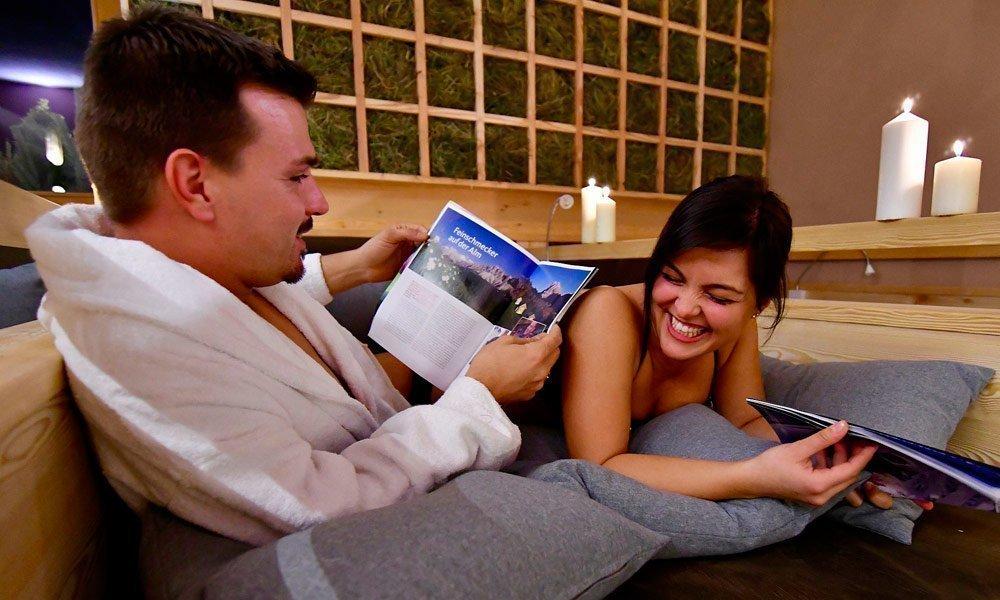 Il soggiorno nella Wellness Pension vi dona nuove energie!