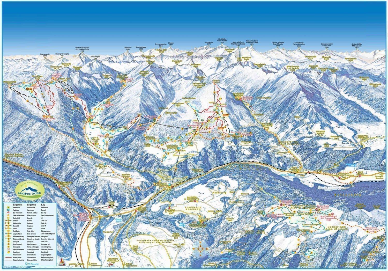 Winterkarte Gitschberg Jochtal